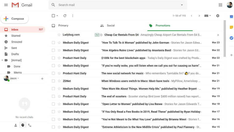 Gmail best email app in 2019