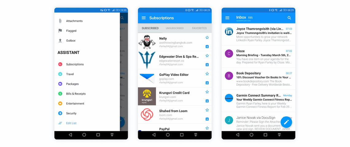 Edison Mail Android best email app in 2020