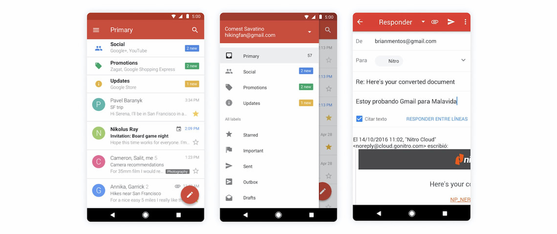 Gmail best email app for Android