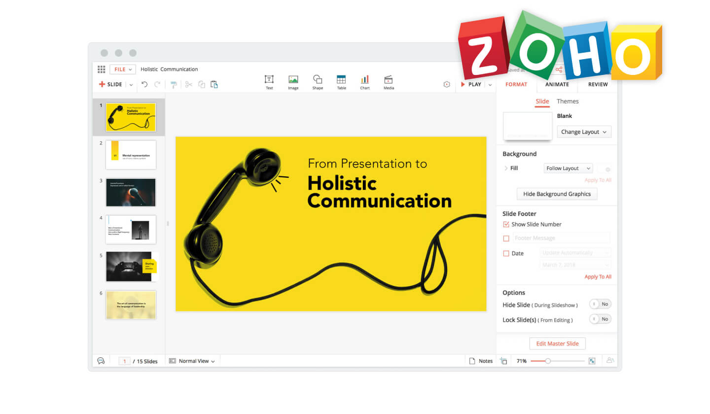Zoho small business software in 2020