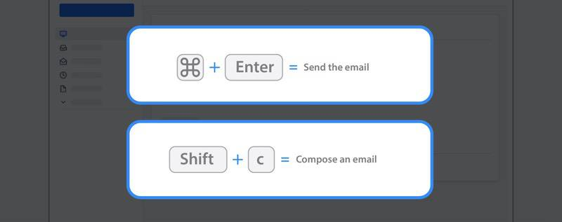 Learn shortcuts as an email hack for inbox management