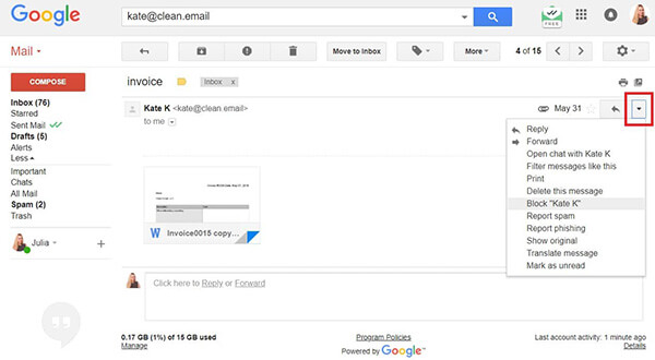 How To Block An Email Address In Gmail Yahoo And Outlook