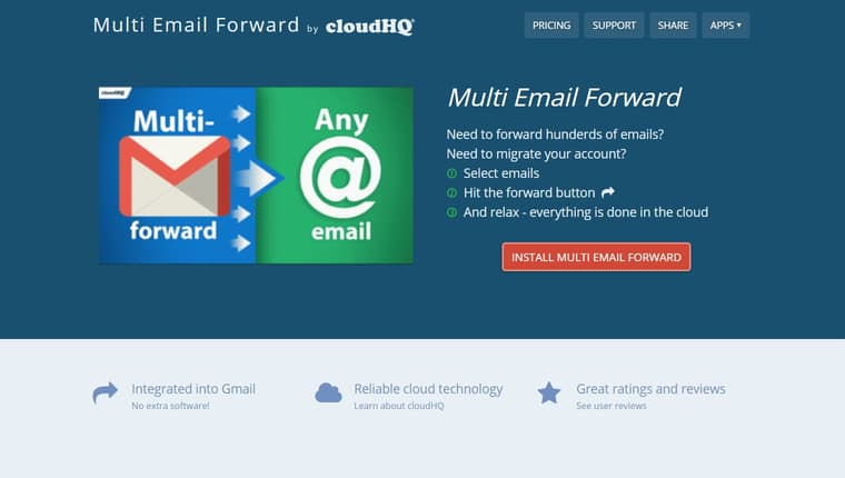 How to forward multiple emails in Gmail with Multi Email Forward
