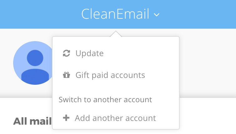How to clean more than one account